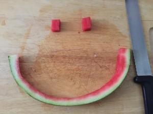Ein süßes Lächeln.