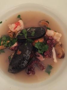 Brodetto pesce e frutti di mare à la Locatelli.