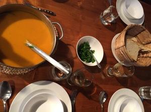 La tavola.