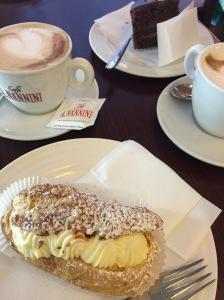 Besuch im Caffé Nannini: Meravigliosa.