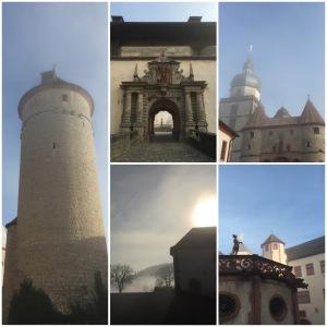 Festung Marienberg mit Rapunzelturm.