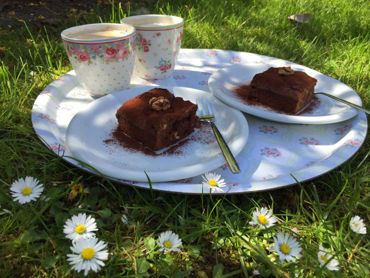 Walnuss-Brownies – Herrenschokolade mal anders