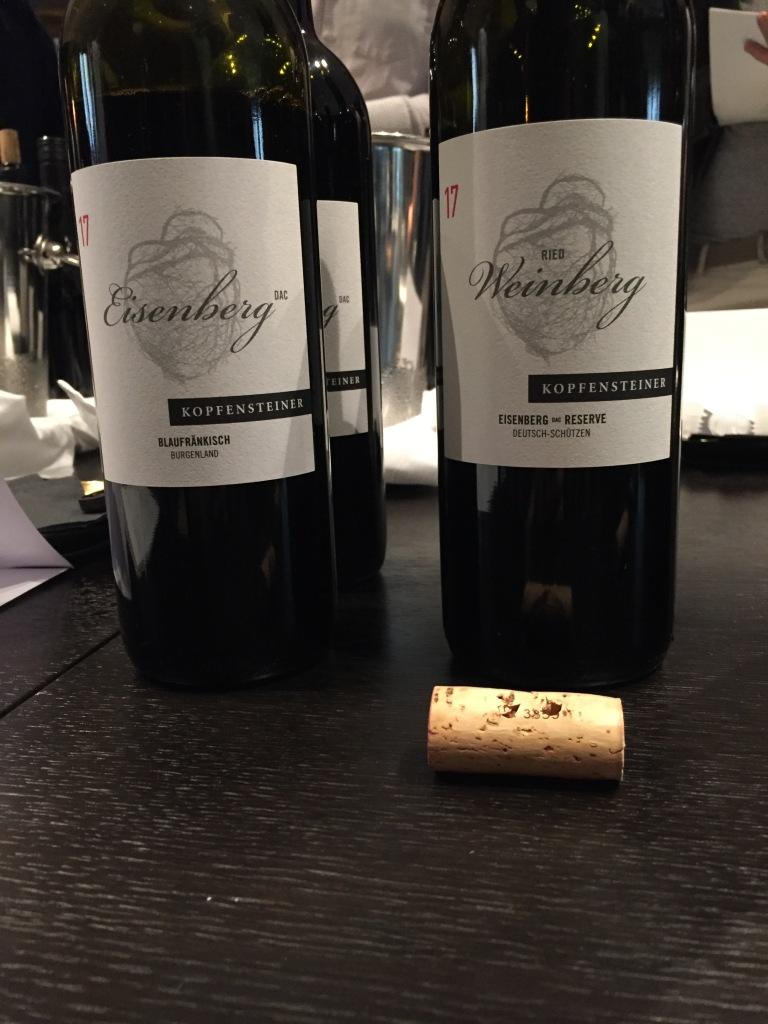 Kopfensteiner Blaufränkisch Wein